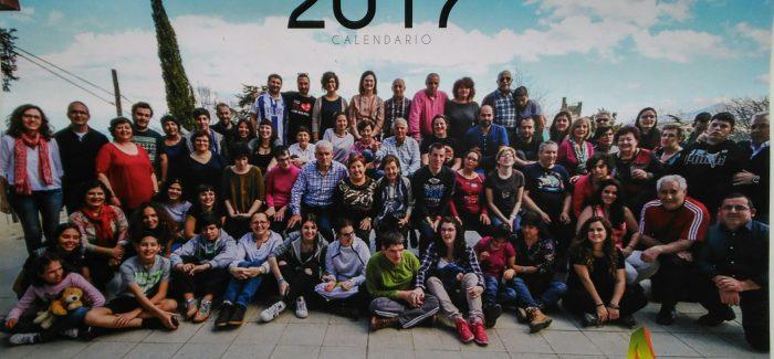 Y ya esta aquí, nuestro calendario solidario 2017